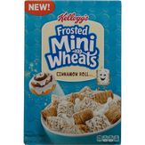 Kellogg's Frosted Mini Wheats Cinnamon Roll Cereal