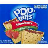 Kellogg's Unfrosted Strawberry Pop-tarts