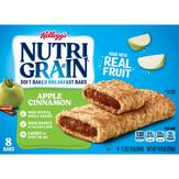Nutri Grain Breakfast Bars, Soft Baked, Apple Cinnamon