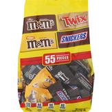 Mars Wrigley Chocolate Candies, 55 Pieces