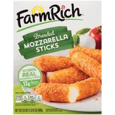 Farm Rich Breaded Mozzarella Sticks Mozzarella Sticks
