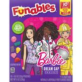 Funables Barbie Fruit Flavored Snacks