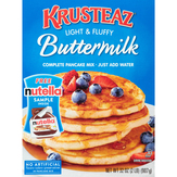 Krusteaz Pancake Mix, Complete, Buttermilk