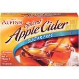 Alpine Drink Mix, Instant, Sugar Free, Spiced Apple Cider