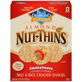 Blue Diamond Almond Nut-thins Smokehouse Nut & R..., Box