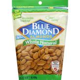 Blue Diamond Almonds, Whole Natural, Value Pack