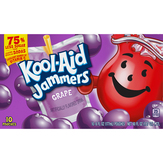 Kool-aid Jammers Grape Jammers Juice Pouches