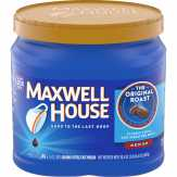 Maxwell House Original Roast/medium Ground Coffee