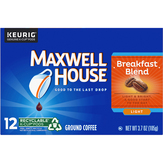 Maxwell House  Cafe Collection Single Serve Cups Breakfast Blend - 12 Ct