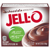 Jell-o Chocolate Instant Pudding & Pie Fil...