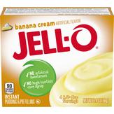 Jell-o Jell-o Banana Cream Instant Pudding...