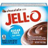 Jell-o Chocolate, Sugar Free, Fat Free Ins...