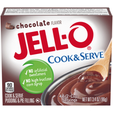Jell-o Chocolate, Cook & Serve Pudding & P...