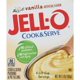 Jell-o  Cook & Serve Pudding & Pie Filling...