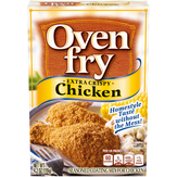 Kraft Oven Fry Seasoned Coating Mix For C...