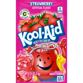 Kool-aid  Strawberry Flavor Unsweetened Soft...