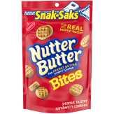Nutter Butter Nabisco Nutter Butter Bites Peanut Butter Sandwich Cookies Snak Saks