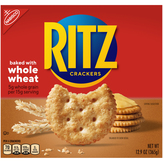 Nabisco Whole Wheat Ritz - Crackers