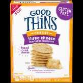Good Thins Three Cheese Crackers, Box