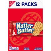 Nutter Butter Nabisco Nutterbutter Peanut Butter Sandwich Cookies - 12 Pk