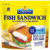 Gorton's  Fish Sandwich Fillets - 8 Ct