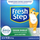 Fresh Step Febreeze Freshness Odor Sheild Clumping Cat Litter