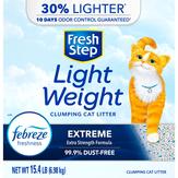 Fresh Step Lightweight Frebreze Freshness Extreme Clumping Cat Litter