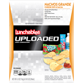 Oscar Mayer Nachos Grande With Cheese Dip & Salsa Lunchables Uploaded Lunch Combonations