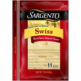 Sargento Deli Style Sliced Natural Swiss Cheese