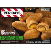 T.g.i. Friday's Poppers Cheddar Cheese Stuffed Jalapeños