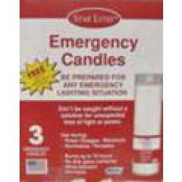 Food City | Star Emergency Candle 3pk