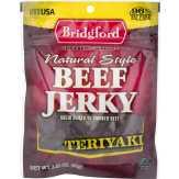 Bridgford  Natural Style Beef Jerky Teriyaki