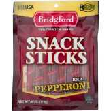 Bridgford  Pepperoni Sticks Individually Wrap...