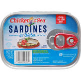 Chicken Of The Sea In Water Sardines