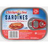 Chicken Of The Sea In Louisiana Hot Sauce Sardines
