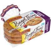 Thomas ' Bagel Thins Cinnamon Raisin - 8 Ct