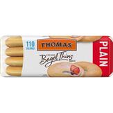 Thomas ' Bagel Thins Plain Bagels - 13 Oz