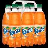Coca-cola Orange Soda Fanta, 6 Pk.