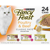 Purina  Poultry & Beef Feast - Classic Fancy Feast Gourmet Cat Food