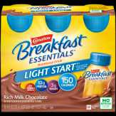 Carnation  Light Start Rich Milk Chocolate Complete Breakfast Essentials Nutrition Drink