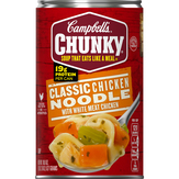 Campbell's Classic Chicken Noodle Chunky Soup