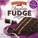 Pepperidge Farm  3-layer Cake Chocolate Fudge