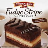 Pepperidge Farm  3-layer Cake Fudge Stripe