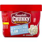 Campbell's New England Clam Chowder Chunky Soup