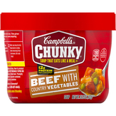 Campbell's Beef With Country Vegetables Chunky...