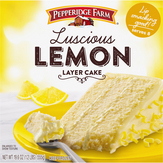 Pep Farm Pfarm Lemon 3 Layer Cake