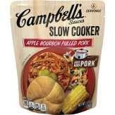 Campbell's Apple Bourbon Bbq Slow Cooker Sauces