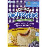 Smucker's Reduced Sugar Peanut Butter & Grape..., 4 Ct.
