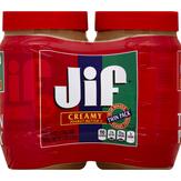 Jif Creamy Peanut Butter, 2 Ct.