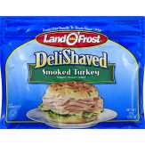 Land O'frost Deli Shaved Smoked Turkey